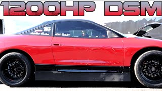 Download 1200HP DSM sets 4 cyl 1/2 mile WORLD RECORD - Boostin Performance Video