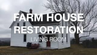 Download Farm House Restoration | $300 Living Room Reno | Ep.1 | Video