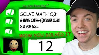 Download ANSWERING THE 3RD QUESTION IN BALDI'S BASICS Video