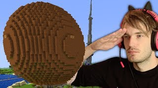 Download I built a GIANT MEATBALL in Minecraft (emotional) Video
