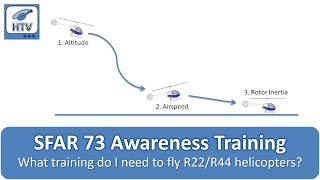 Download SFAR 73 Awareness Training for Robinson R22 and R44 Helicopters (Updated Version) Video
