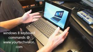 Download Windows 8 Keyboard commands and accessibility with Jaws Video