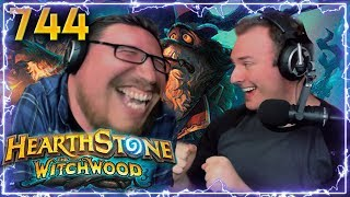 Download CRAZY WITCHWOOD CARDS!! | Hearthstone Daily Moments Ep. 744 Video