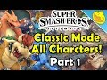 Download CLASSIC MODE ALL Character Runs + Challenges! Super Smash Bros. Ultimate (Pt.1) Video