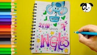 Download Ideas para marcar tus cuadernos-Cómo marcar cuaderno de Inglés-Dibujos para niños Video