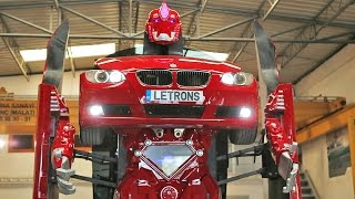 Download Amazing Real BMW Transformer Video