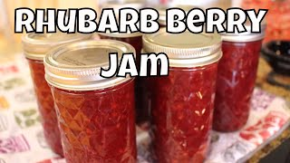 Download Canning Rhubarb Berry Jam Video