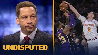 Download Chris Broussard reacts to LeBron's potential game-winner being blocked vs Knicks | NBA | UNDISPUTED Video