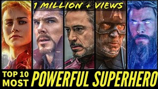 Download Top 10 Most Powerful Superheroes of MCU after Endgame   SUPER INDIA   Video