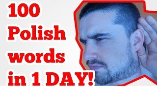 Download Over 100 Polish words in 1 day (method) Video
