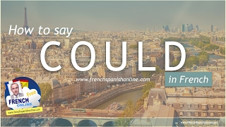 Download How to say COULD in French Video