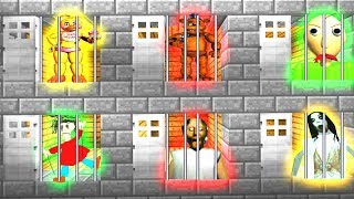 Download Minecraft PE : DO NOT CHOOSE THE WRONG SECRET PRISON BASE! (Baldi Basics, Granny, FNAF) Video