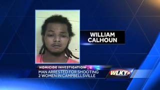 Download Man arrested for shooting 2 women in Campbellsville Video