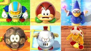 Download Super Mario 3D World - All Enemy Blockades (4 Players) Video