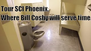 Download Tour Bill Cosby's prison where he will be serving his time, SCI Phoenix Video