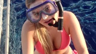 Download DIVING WITH SHARKS! | iJustine Video
