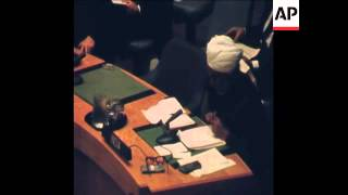 Download SYND 13-12-71 UN SECURITY COUNCIL MEETING DISCUSSING WAR BETWEEN INDIA AND PAKISTAN Video