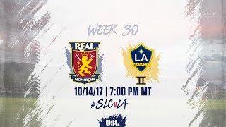 Download USL LIVE - Real Monarchs SLC vs LA Galaxy II 10/14/17 Video
