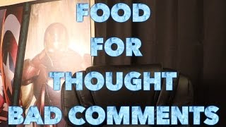 Download Food for Thought: Don't let NEGATIVE comments stop your YouTube Hustle Video