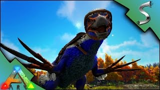 Download RANDOMLY MUTATED THERIZINOSAURUS! BLUE COLOUR MUTATION! | Ark: Survival Evolved [S3E19] Video