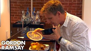 Download Ramsay's Brilliant Reaction to Sports Car Themed Hotel | Hotel Hell Video