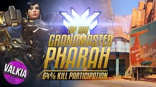 Download Top 200 S4: Grandmaster Pharah || 64% Kill Participation [POTM] || Valkia Video