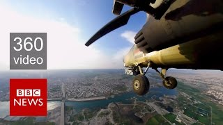 Download Mosul: Fight against ISIS from the sky in 360 video - BBC News Video