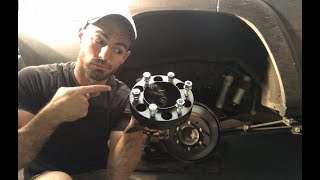 Download How To Install Wheel Spacers / Adapters The Correct Way ! - JN53 Video
