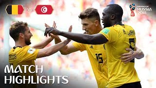Download Belgium v Tunisia - 2018 FIFA World Cup Russia™ - Match 29 Video