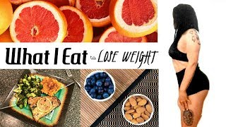 Download What I Eat in a Day to LOSE WEIGHT Video