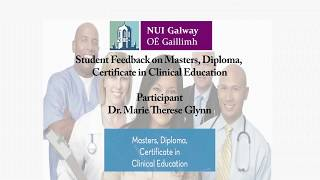 Download Dr Marie Therese Glynn - Feedback Clinical Education programme Video