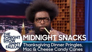 Download Midnight Snacks: Thanksgiving Dinner Pringles, Mac & Cheese Candy Canes Video