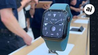 Download Apple Watch Series 5 - Hands On! Video