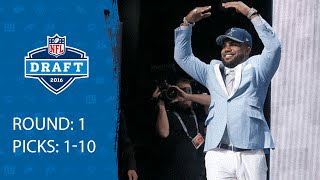 Download Picks 1-10 Recap | 2016 NFL Draft Video