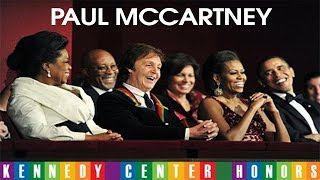 Download PAUL McCARTNEY AT KENNEDY CENTER HONORS (Complete) Video