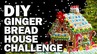 Download DIY Gingerbread Challenge!!! - Man Vs Corinne Vs Pin Video