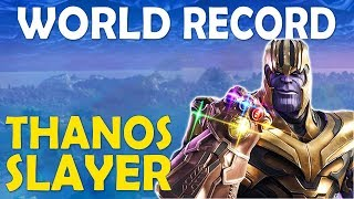 Download NEW WORLD RECORD TIE | MOST THANOS KILLS IN A GAME | BUILD BATTLES - (Fortnite Battle Royale) Video