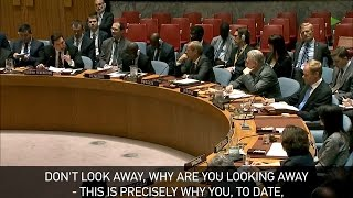 Download ″Look at me when I'm speaking″ - Russia to UK at UN meeting Video