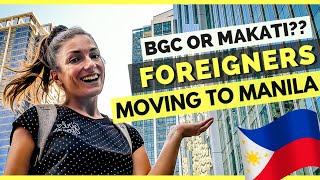 Download BGC OR MAKATI which is better??? Foreigners MOVING TO MANILA The Philippines Video
