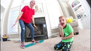 Download MY WIFE CAN CARPET SKATEBOARD! Video