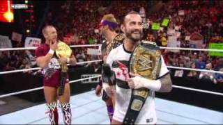 Download Raw - CM Punk, Bryan and Ryder celebrate their victories at WWE TLC Video