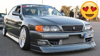 Download JDM LEGENDS + Street Drifting in Germany! Video