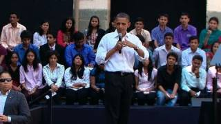 Download Town Hall with Students in Mumbai Video
