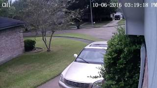 Download Guy parked IN MY driveway. Video
