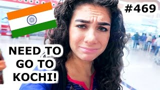 Download MISSED MY FLIGHT TO KOCHI? | DELHI DAY 469 | INDIA | TRAVEL VLOG IV Video