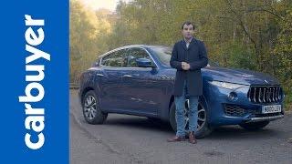 Download Maserati Levante SUV - Carbuyer Video