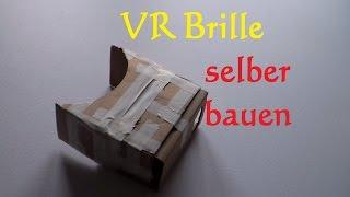 Download DIY VR Brille selber bauen - virtual reality Brille selber machen - Cardboard bauen basteln Video