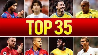 Download Top 35 Legendary Goals In Football History Video