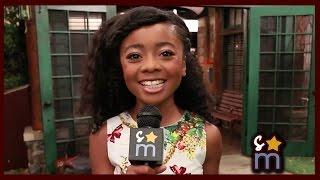 Download Skai Jackson Talks BUNK'D, Zuri's Crushes & Scaring Peyton List Video