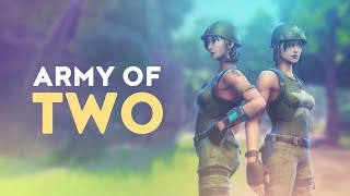 Download ARMY OF TWO ft. Tfue | 2v20+ - 50vs50 MODE (Fortnite Battle Royale) Video
